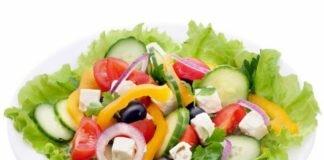 Рецепты диетических салатов